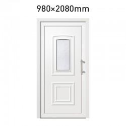 Plastové hlavní vchodové dveře 980 x 2080 mm - AMETYST