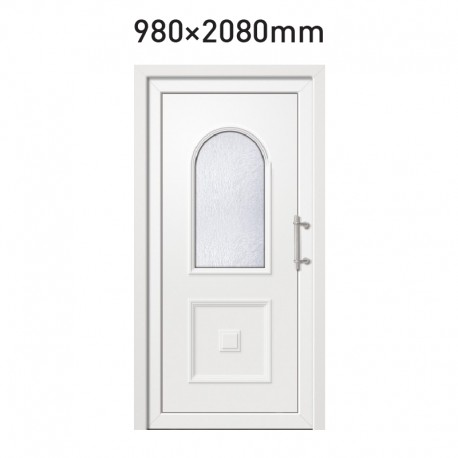 Plastové hlavní vchodové dveře 980 x 2080 mm - AZURIT