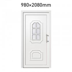 Plastové hlavní vchodové dveře 980 x 2080 mm - DIAMANT